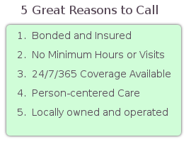 In Home Care, Rochester, NY