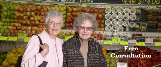Grocery shopping with your Loved One at Home by Touching Hearts - Rochester